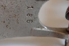 006 Sonor voetpedaal 646-10 nikkel Stabil 1927-1931 (15)