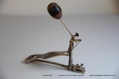 006 Sonor voetpedaal 646-10 nikkel Stabil 1927-1931 (2)