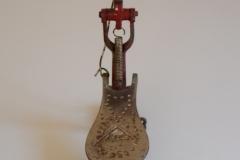 007 Sonor voetpedaal 646-10 Stabil nikkel-rood 1927-1931 (4)