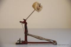 007 Sonor voetpedaal 646-10 Stabil nikkel-rood 1927-1931 (5)