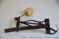 009 Sonor voetpedaal 646-5 zwart 1932-1952 (8)