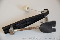 036 Sonor foot pedal no. 5318 Presto 1964-1968 Long spring (10)