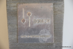 037 Sonor foot pedal no. Z5304 Tempo 1967-1968 aluminum footplate (7)