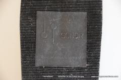 038 Sonor foot pedal no. Z5304 Tempo 1967-1968 Plastic footplate (7)