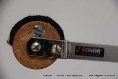 046 Sonor foot pedal no. Z5325 Daniël Humair 1980=1982 (22)